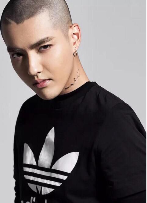 """Kris; this may not be important , but a few weeks ago while I was in NY, in one of times square billboards, I saw this ads of """"strait outta compton"""" and Kris was in there.  so i was really excited because of him being succesfull and recognise out of asia and that."""