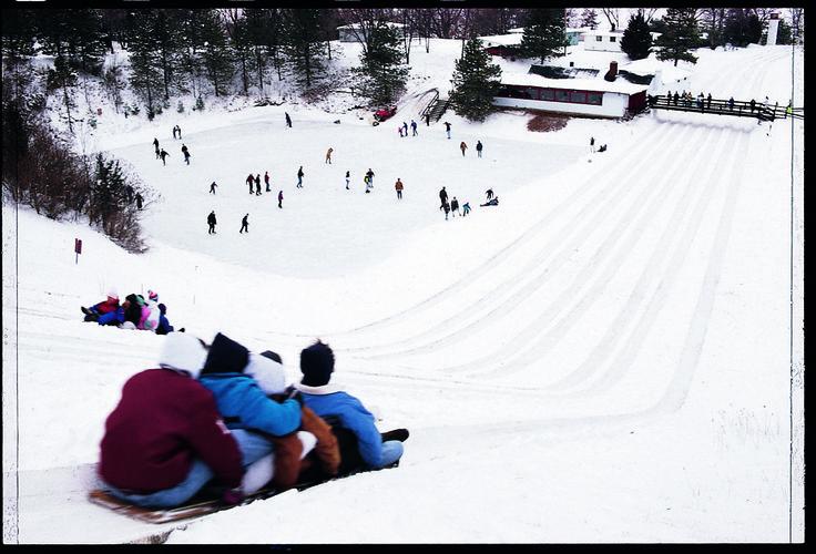 sledding hills in kalamazoo