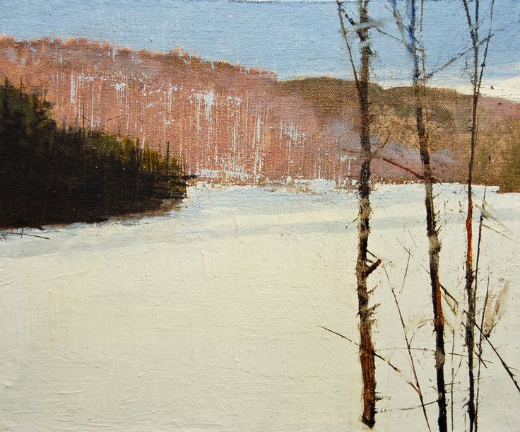 "Contemporary undefined - ""december 12 maniwaki"" (Original Art from David Lidbetter)"
