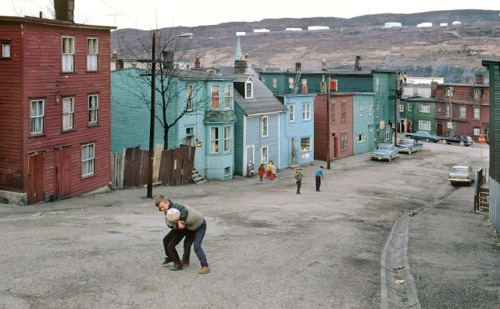 St. John's, Newfoundland & Labrador. In the 60's.