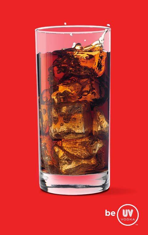 UV Vodka Recipe: Cherry Bomb; Cake & Coke; Cake Float (RB)
