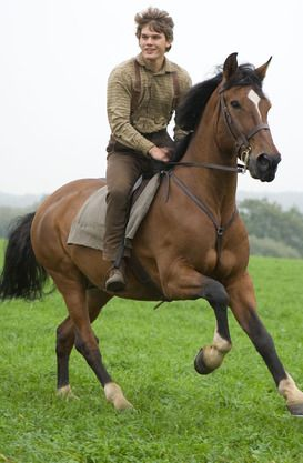 War Horse I <3 his movie!!! Like all horse movies there was some unrealistic stuff in it but it still was good!!! WARNING: if you have feelings you WILL cry!!!! Tissues on hand!!!
