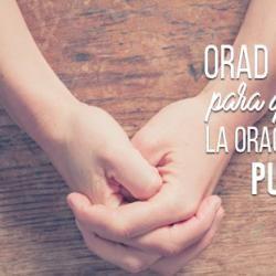 """Yo creo en esta palabra - Santiago 5:16 """"Confesaos vuestras ofensas unos a otros, y orad unos por otros, para que seáis sanados. La oración eficaz del justo puede mucho."""""""