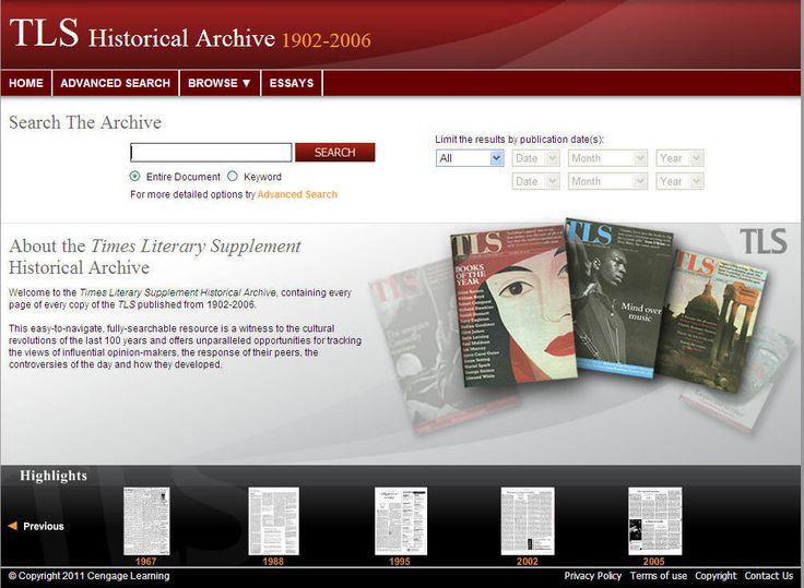 best modernism essay presentation images times literary supplement historical archive 1902 2007 gale digital collections modernismpresentation