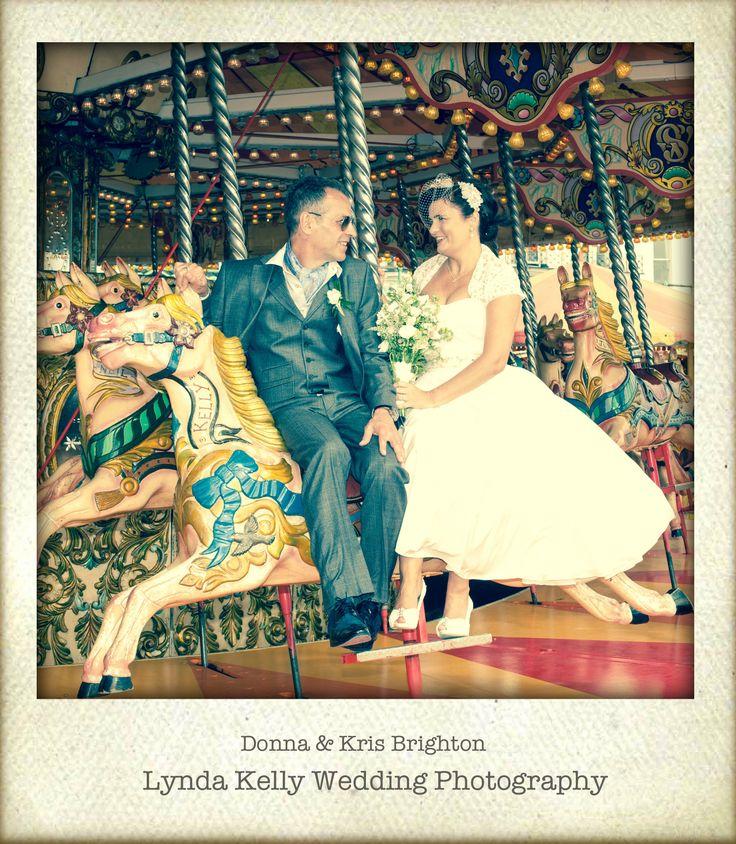 True Vintage Brighton Wedding