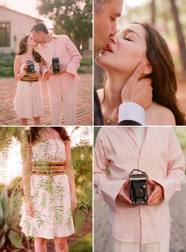 Engagement Photo Shoot by Elizabeth Messina