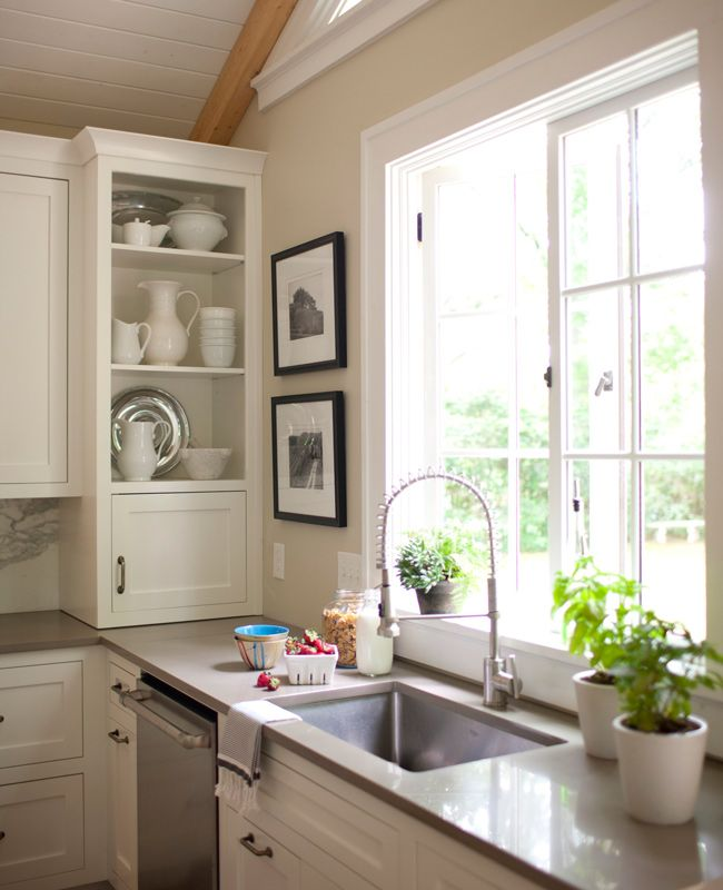 Navy Kitchen Cabinets, Built In Cabinets And Diy