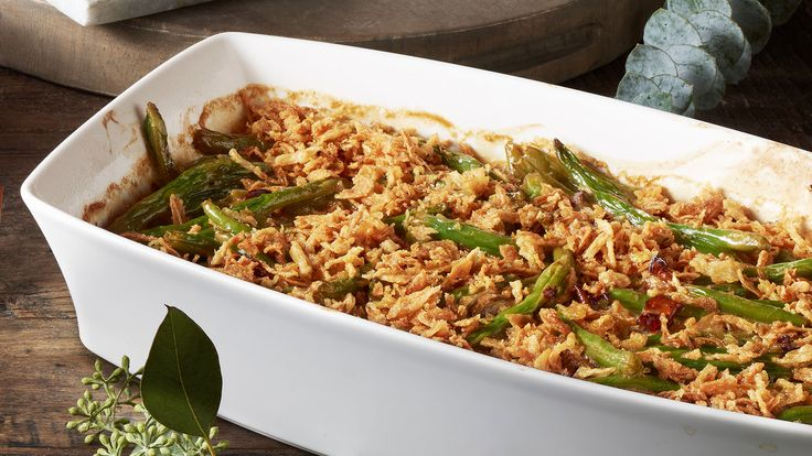 French Green Bean and Chanterrelle Casserole | Recipe | The Fresh Market - Ingredients and step-by-step recipe for French Green Bean and Chanterrelle Casserole. Find more gourmet recipes and meal ideas at The Fresh Market today!