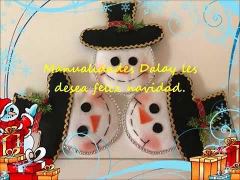 Muñeco de nieve para el arbol de navidad