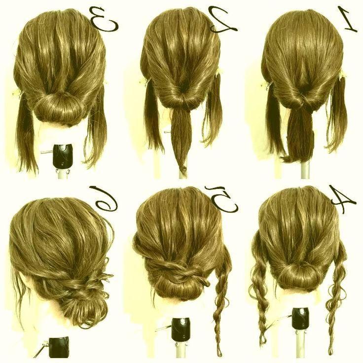 33++ Updos for medium hair ideas