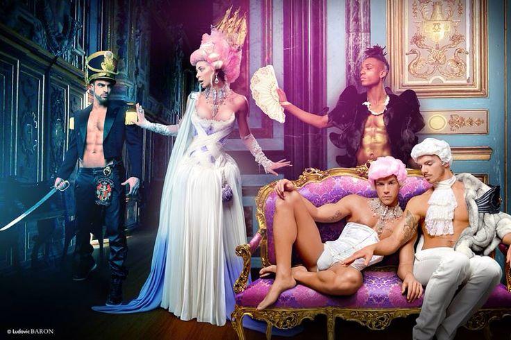 Tableau - Marie Antoinette - Artiste Ludovic Baron