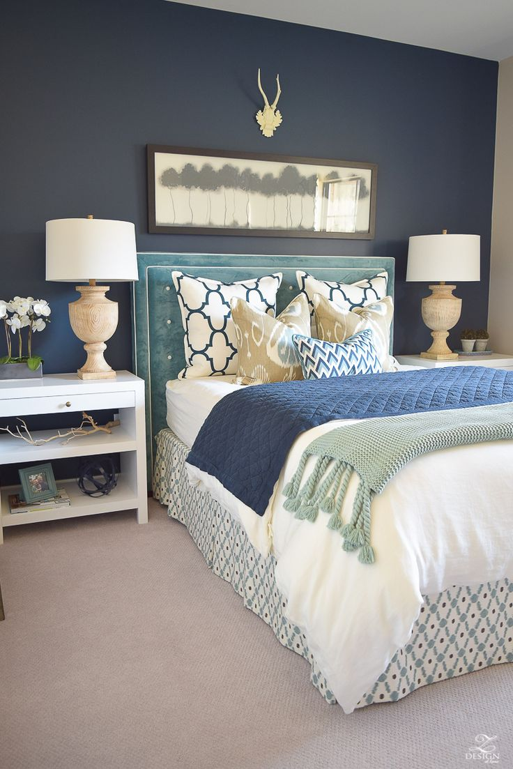 Uncategorized Aqua Bed best 25 aqua bedding ideas on pinterest mint green a guest room retreat tour