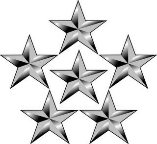 General of the Armies Insignia 5 Stars