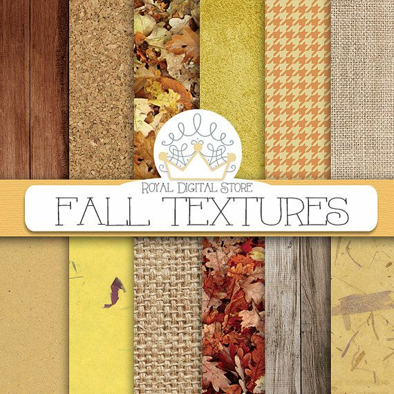 """Fall digital paper: """"FALL TEXTURES"""" with fall digital backgrounds, thanksgiving digital paper, autumn digital paper for scrapbooking, cards #neutral #distressedwood #texture #digitalpaper #scrapbookpaper #shabby"""