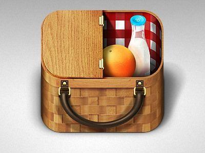 iOS icons: Basket App