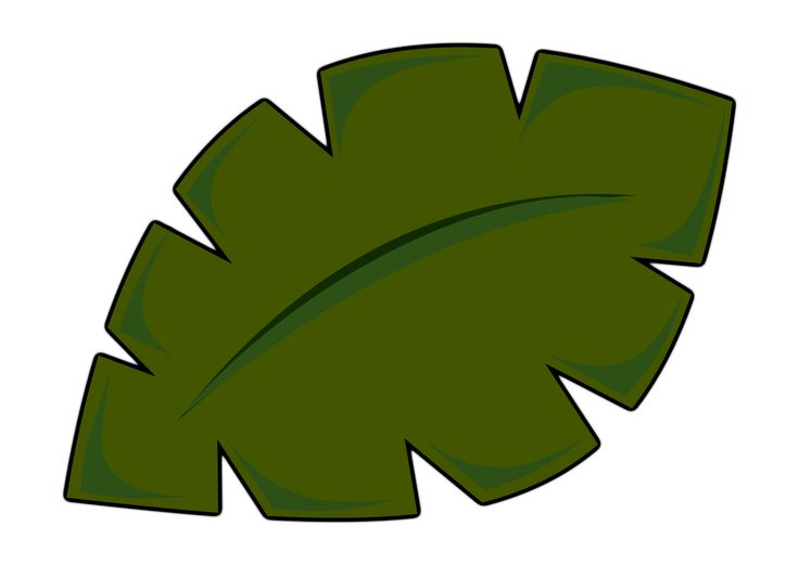 Jungle Leaf Template | vbs | Pinterest | Leaf template, Templates and ...