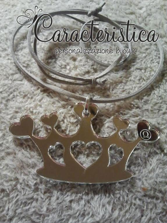 it_ciondolo_corona_principessa_in_plexiglass_argento_specchiato_
