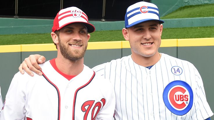 Bryce Harper and Anthony Rizzo