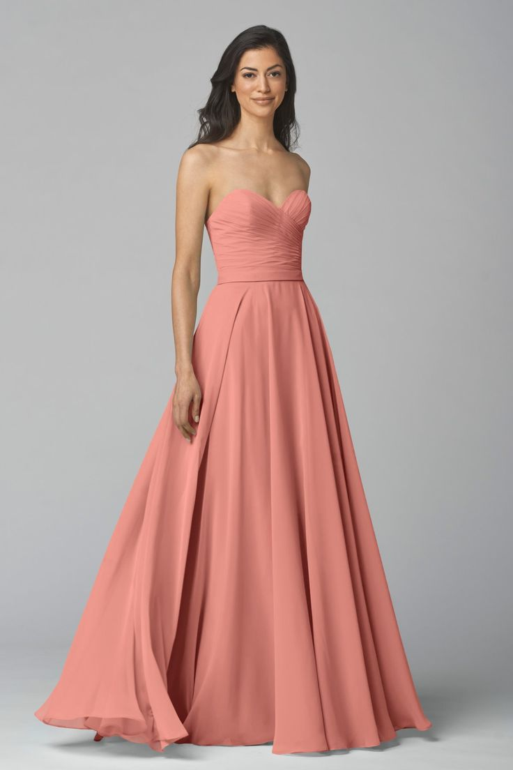 192 best coral and blush bridesmaid dresses images on pinterest wtoo maids dress 903 in chateau rose ombrellifo Choice Image