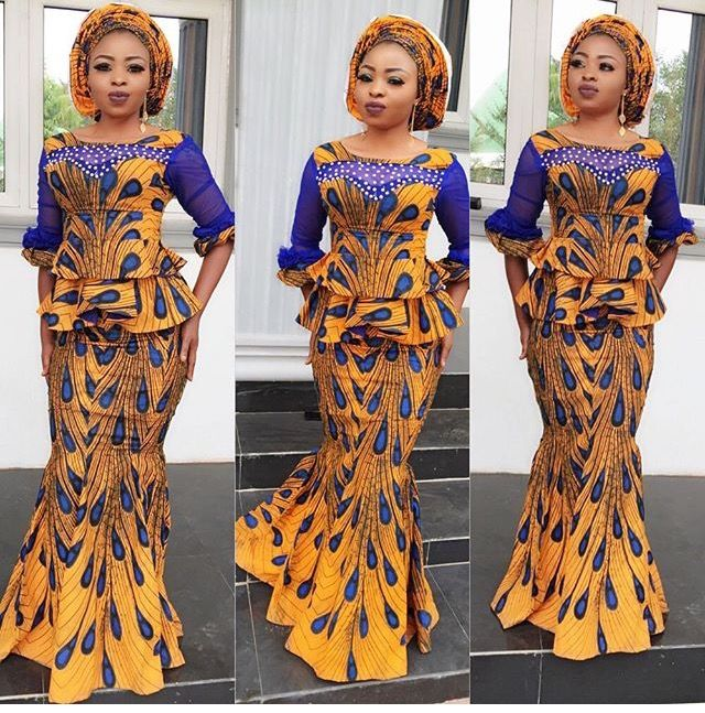 Same Ankara print with different styles See photos Like and share