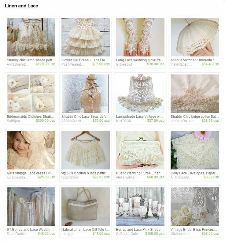 Curated by SingingPhotographer on Etsy https://www.etsy.com/treasury/NzAwNzQ4OHwyNzI1ODczNTE2/linen-and-lace