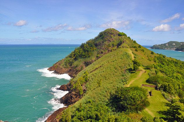 St. Lucia Tourism Attractions | Pigeon Island National Park View slideshow