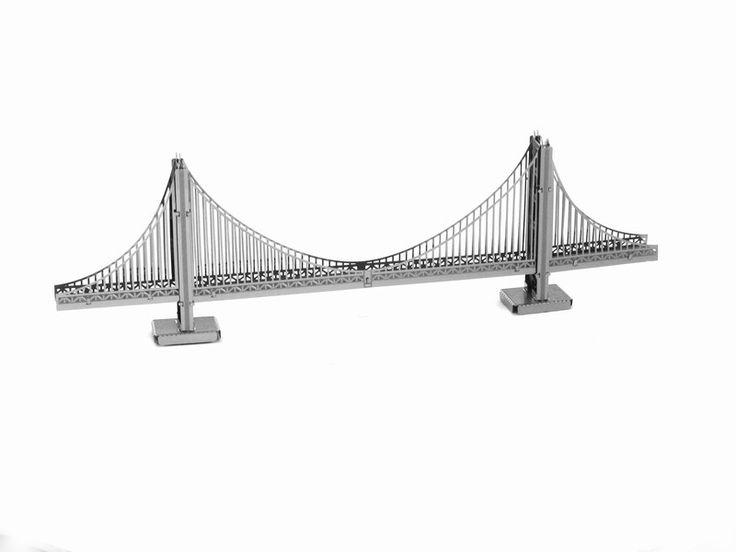 Miniature Landmarks/Buildings 3D DIY Metal Earth Model (20 Variations)