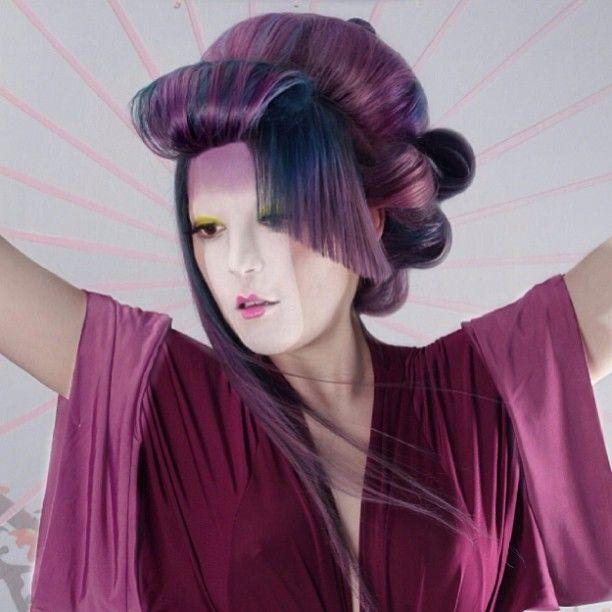 Canadian Wella Trend Vision Awards Chelsea instagram.com/texturehair #Wella #TrendVision #SoundofColor #LasVegas #Decibal #Allegra #Echo #Fusion #NATVA #ITVA