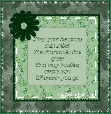 Irish Blessing green lucky irish st patricks day st. patrick's day happy st. patrick's day st. patrick's day greeting