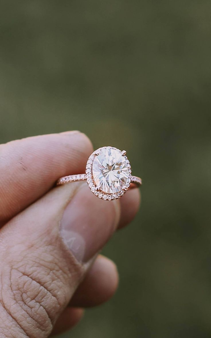 Shelly And Blake's Proposal On The Knot's Howheasked Perfect Engagement  Ringhalo