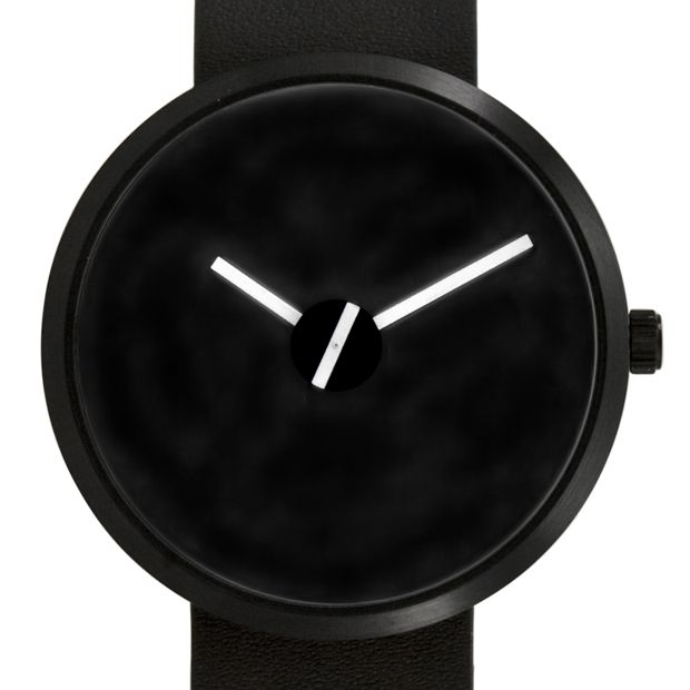 Sometimes (black) by Denis Guidone for Projects at Dezeen Watch Store