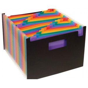 Organizador Rainbow Class con 24 compartimentos