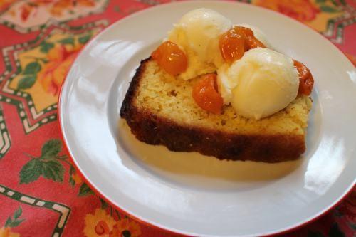 Orange Ricotta Pillows With Lillet Kumquat Compote Recipe — Dishmaps
