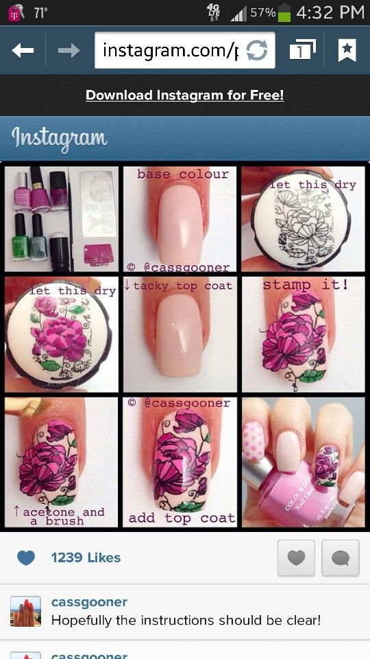 easiest way to make your own nail decals | Nail Art Stamping Tips ...