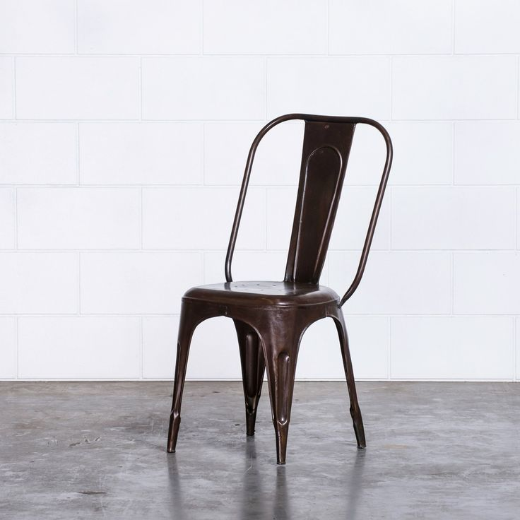 Frankie Cafe Dining Chairs - BRONZE | $99.00