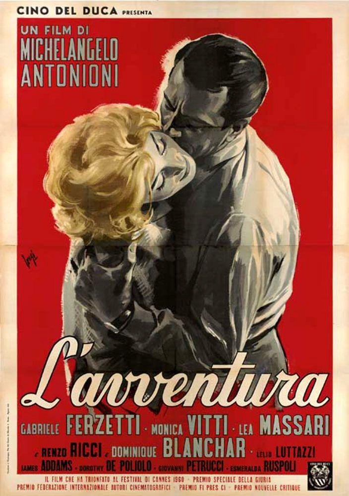 La Aventura (L'Avventura), de Michelangelo Antonioni, 1960