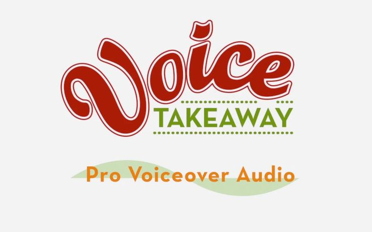 Voice Takeaway - Professional Voiceover Audio www.voicetakeaway.com
