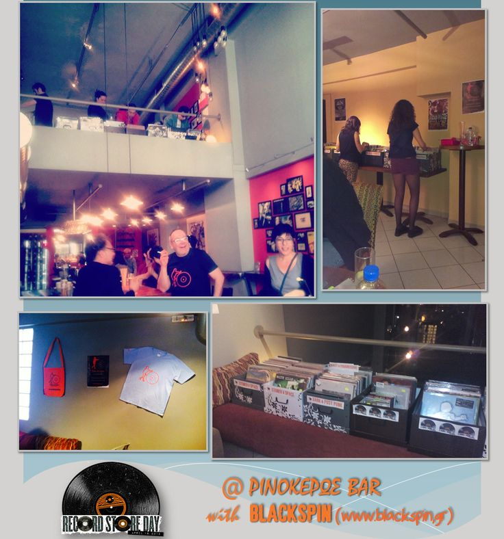 Record Store Day 2015 event at Ρινόκερως bar. Thanks to everybody who came and to our friends for their valuable help! See you again soon!