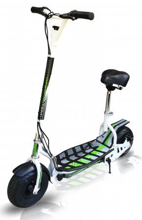 EVO Zippy Uber electric scooter Now with seat!!!, White | Electric Scooters for sale in South Africa | SA Scooter Shop