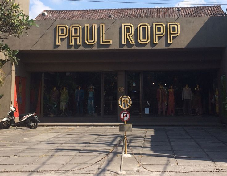 Paul Ropp has been one of the local founding fashion icons of Bali, located on Jl. Laksamna just 7 min. walk from Ayatana.