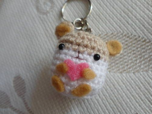 Hamster - Free Amigurumi Pattern here: http://www.craftster.org/forum/index.php?topic=434892.0 (Scroll Down at the end of the post)
