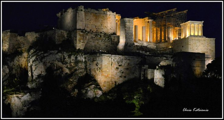 My city - Our Athens: Acropolis by night