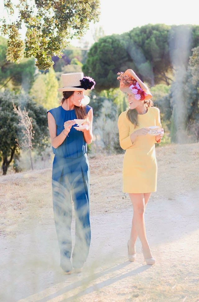 Tocados Nectarine | AtodoConfetti - Blog de BODAS y FIESTAS llenas de confetti