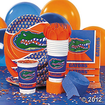 NCAA™ Florida Gators Party Supplies - Oriental Trading