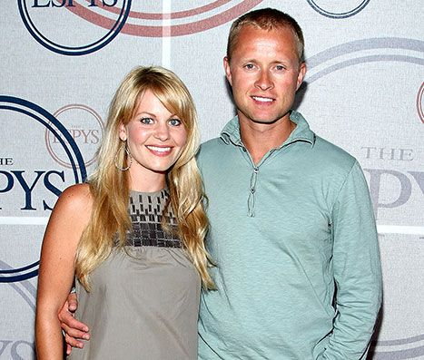 Candace Cameron Bure says her Russian husband, Valeri Bure, learned English from watching Full House. LOL