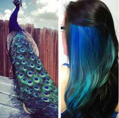 Really like the idea of having this big pop of color, but being able to hide it…