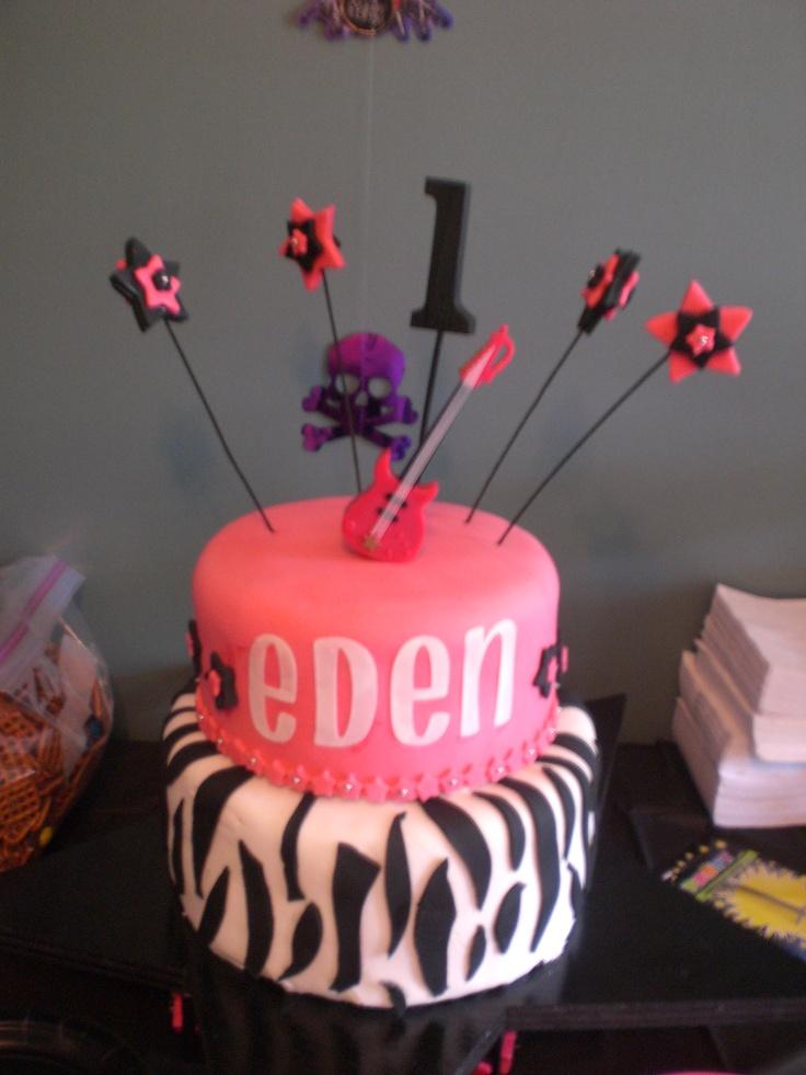 Cricut Birthday Cake