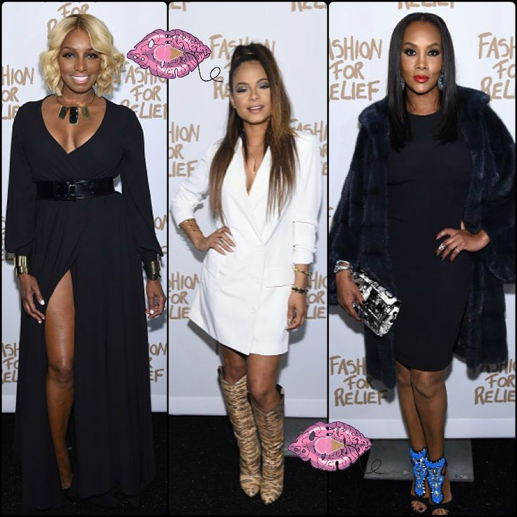 PICS: NeNe Leakes, Christina Milian, Vivica Fox, & More Attend Naomi Campbell's Fashion For Relief Show. See photos and video.