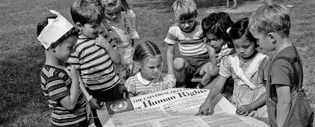 THE PEACE LINE: Universal Declaration of Human Rights Preamble