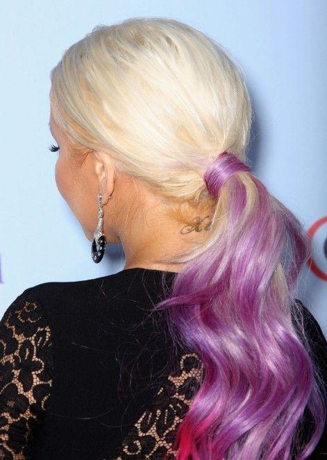 Christina Aguilera Cola de caballo peinados para el pelo largo //  #Aguilera #caballo #Christina #cola #largo #para #Peinados #pelo